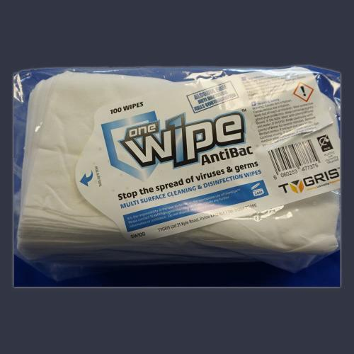 One Wipe Antibacterial Wipes