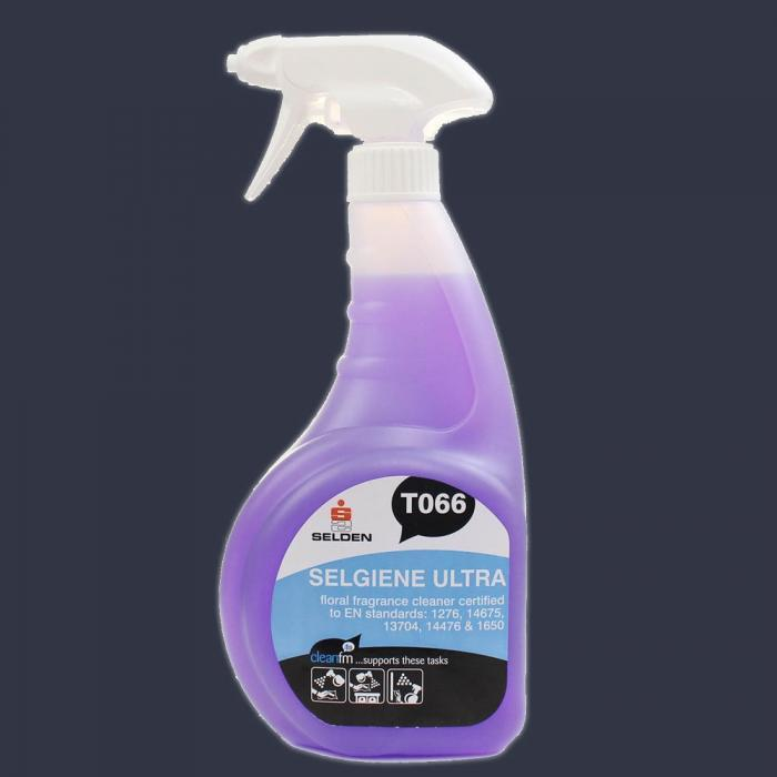 Selgiene Ultra T066 Anti Bacterial Spray Cleaner (750ml)