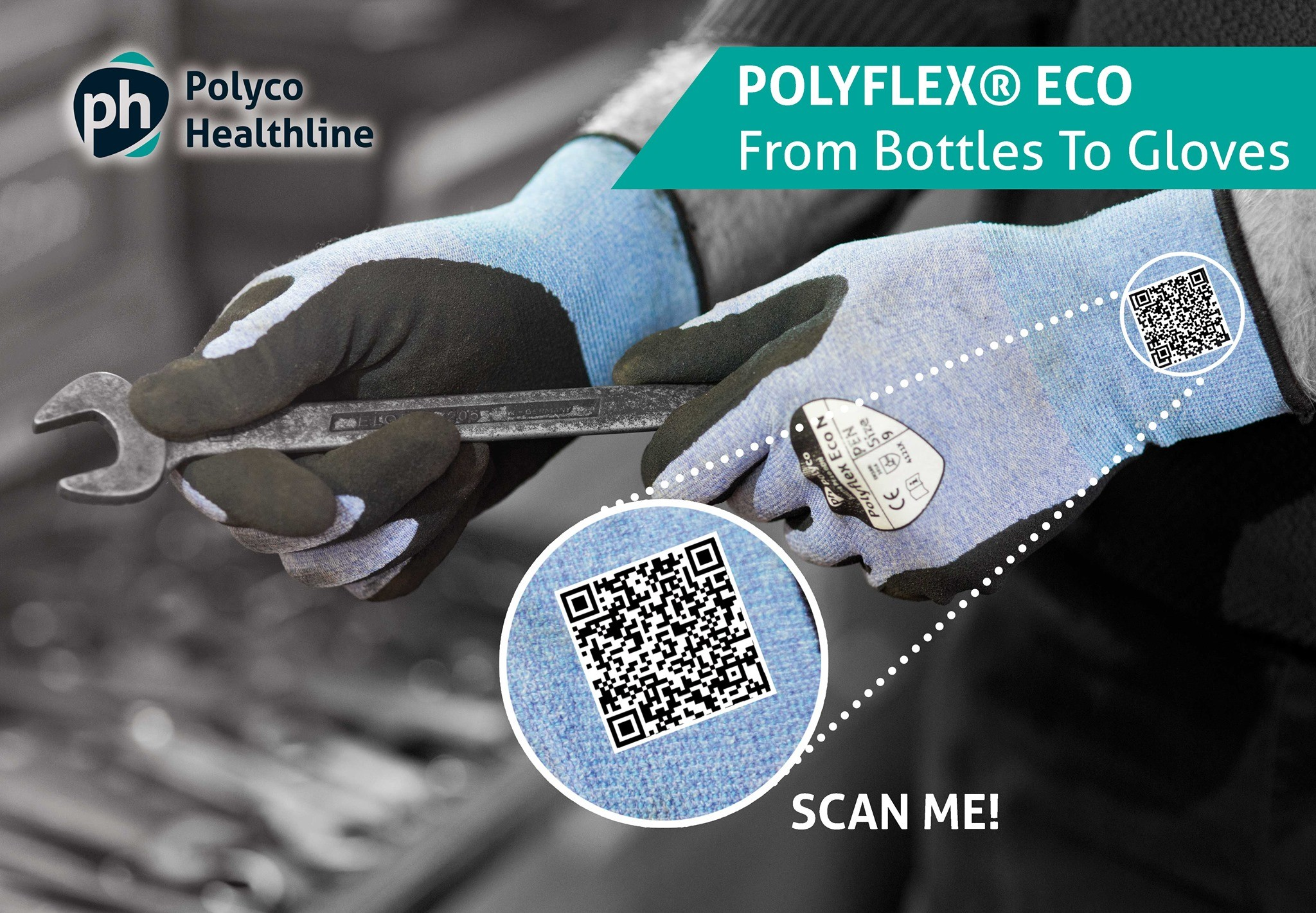 Polyflex Eco Gloves