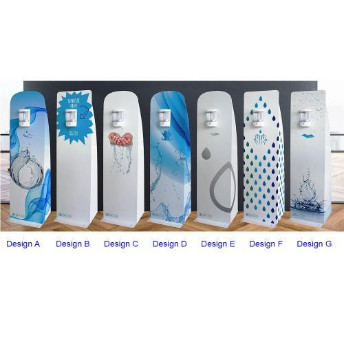 Floor standing hand sanitiser dispenser