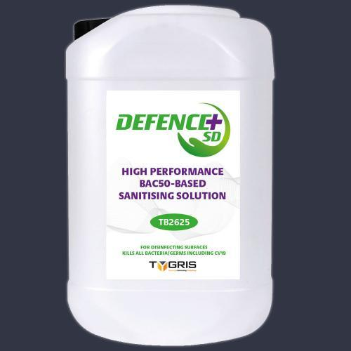 TB2625 High Performance BAC50 Surface Disinfectant (25Ltr)