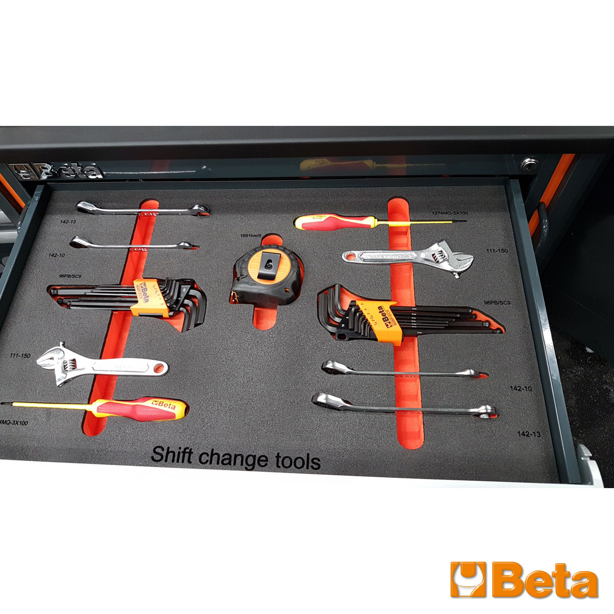 Beta Inlaid Shift Change Tools