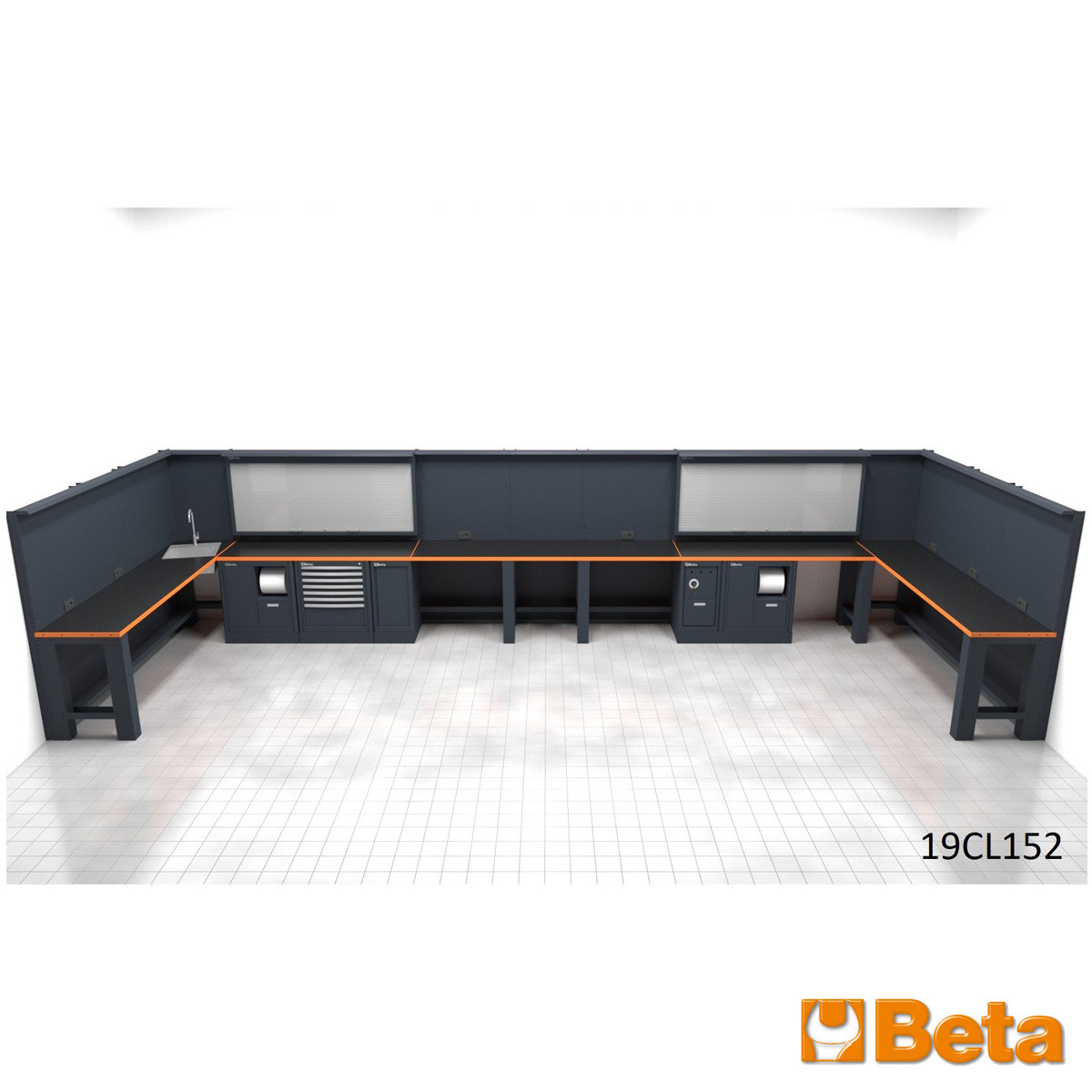 Beta Modular Workbenches